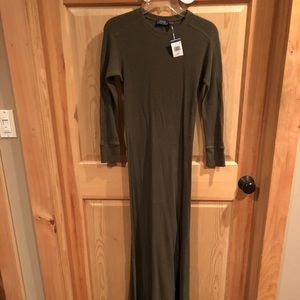 New Ralph Lauren thermal maxi dress with tags!!